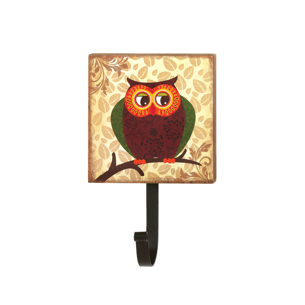 RETRO OWL WALL HOOK