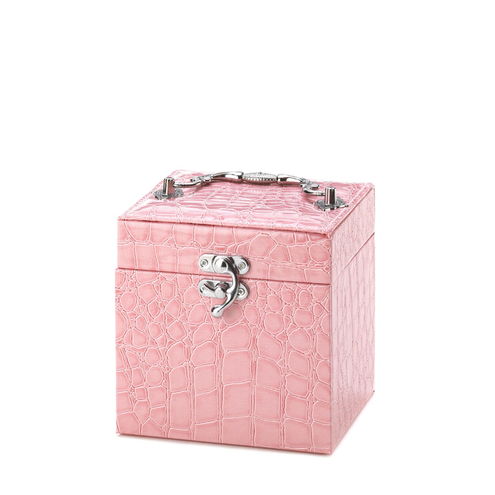 STYLISH PINK JEWELRY BOX