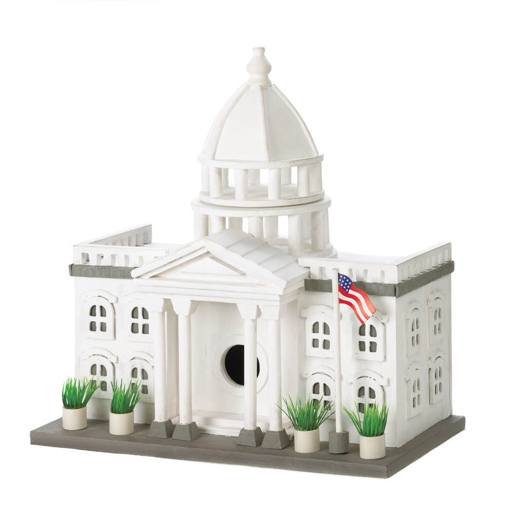 WHITE HOUSE BIRDHOUSE