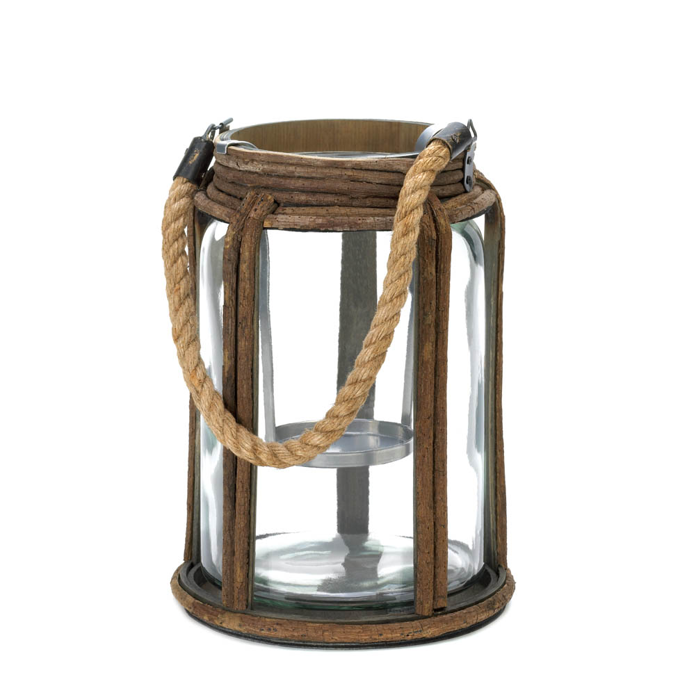 LARGE OLD WORLD CAMPING LANTERN