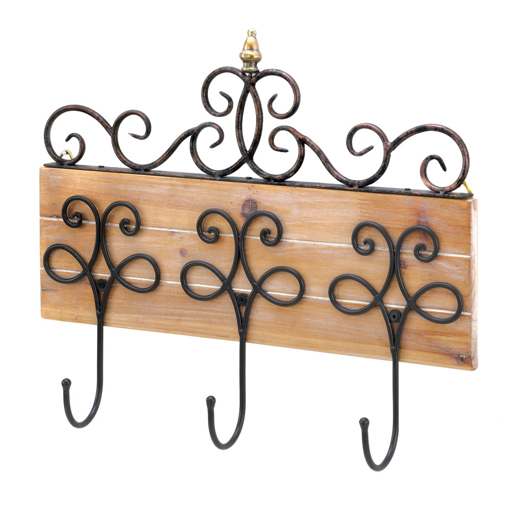 SCROLLWORK WALL HOOK