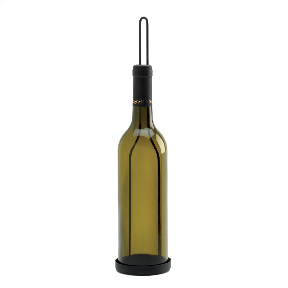 WINE BOTTLE CANDLEHOLDER