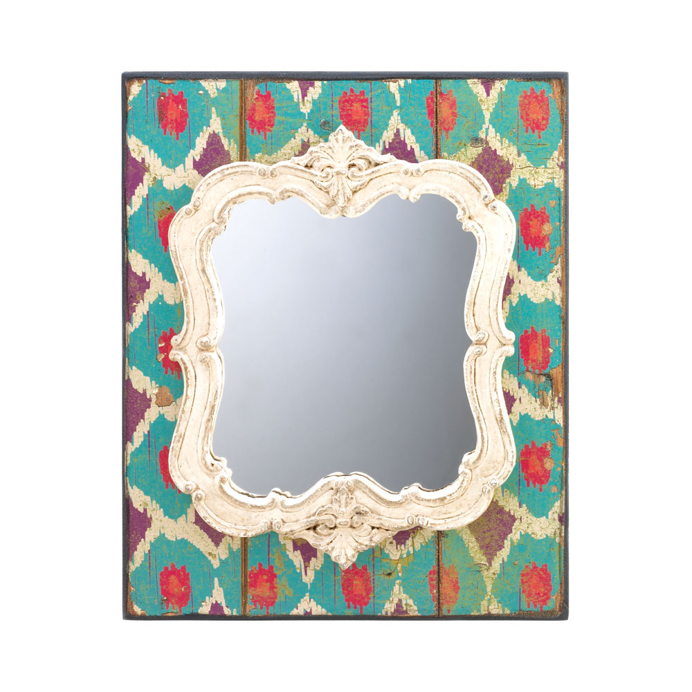 VINTAGE GRAPHIC WALL MIRROR