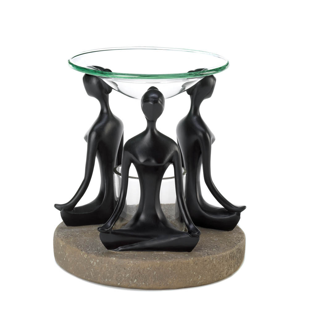 YOGA POSITION OIL WARMER