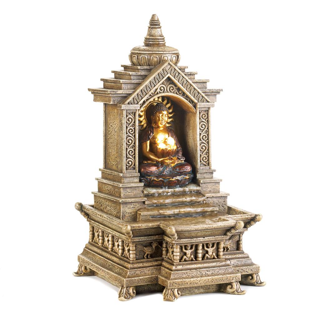 GOLDEN BUDDHA TEMPLE FOUNTAIN