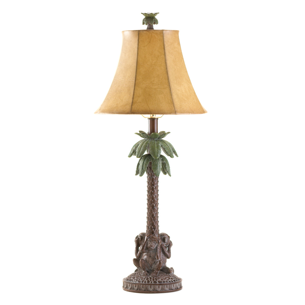 MONKEYS BAHAMA LAMP