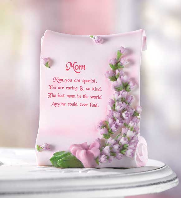 MOM POETIC PLAQUE